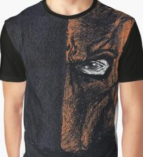 Deathstroke Coloured Ballpoint Graphic T-Shirt