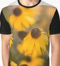 Sunshine Haze on Black-Eyed Susans Graphic T-Shirt