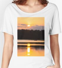 A Day on the Lake Women's Relaxed Fit T-Shirt