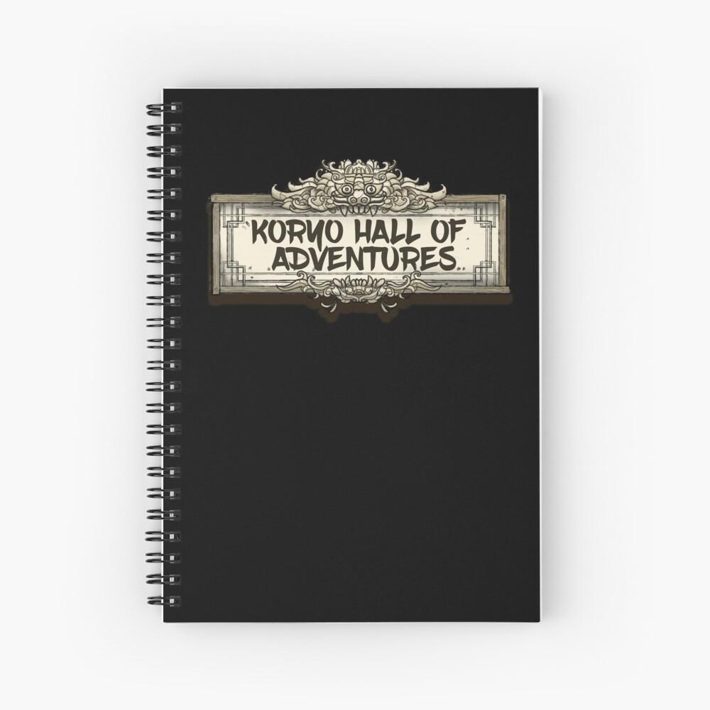 The Koryo Hall of Adventures Spiral Notebook