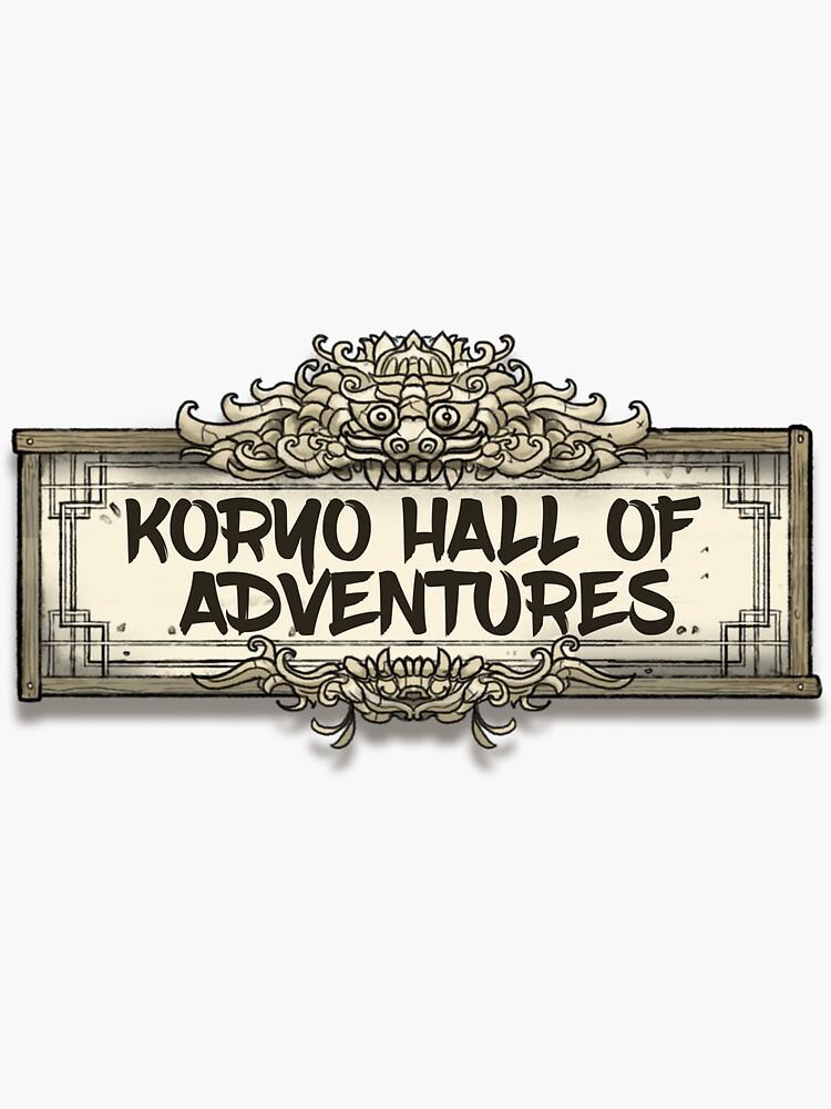The Koryo Hall of Adventures by aurelienlaine