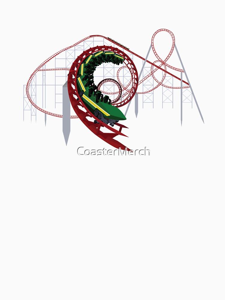 Viper at Magic Mountain Coaster Design by CoasterMerch