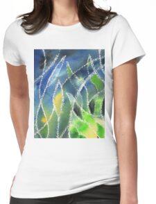 Whimsical Garden Organic Decor I Womens Fitted T-Shirt