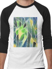 Whimsical Garden Organic Decor II Men's Baseball ¾ T-Shirt