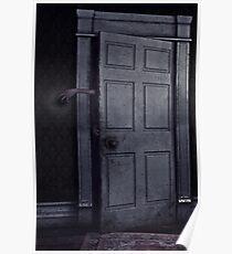 The Door Poster & Scary Door: Posters | Redbubble