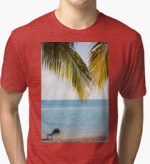 Afternoon in Paradise Tri-blend T-Shirt