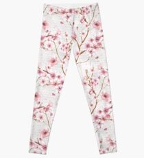 Cherry Blossom Romance Collection Leggings