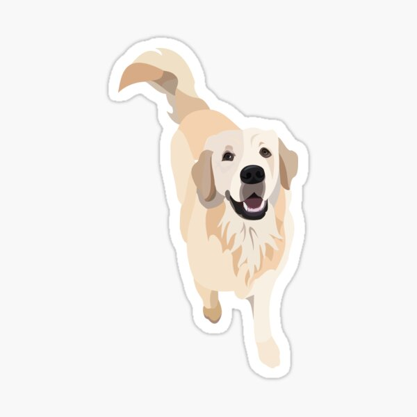 Golden Retriever Doggo Sticker