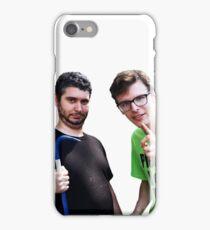 Idubbbz and Ethan Klein of h3h3 iPhone Case/Skin