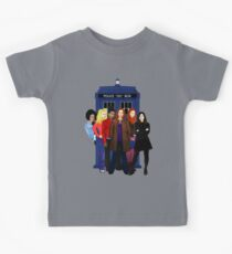 Doctor Who - The Companions Kids Tee