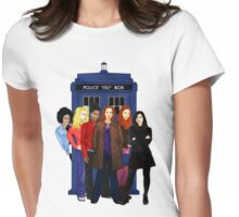 Doctor Who - The Companions Womens Fitted T-Shirt
