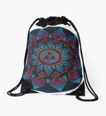 Energy of  Transformation Mandala Drawstring Bag