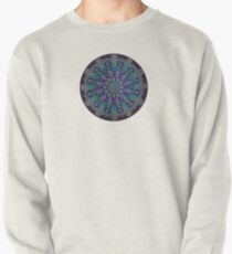 Healing With Angels and Violet Flame Mandala Pullover