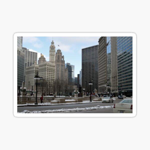 Michigan Avenue - Chicago, IL Sticker