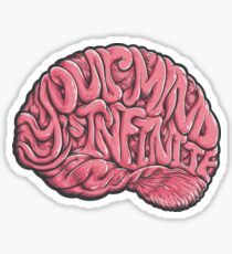 Your Mind is Infinite Sticker