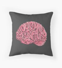 Your Mind is Infinite Throw Pillow
