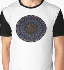 Rainbow Warrior of the Light Mandala Graphic T-Shirt
