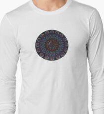 Rainbow Warrior of the Light Mandala Long Sleeve T-Shirt