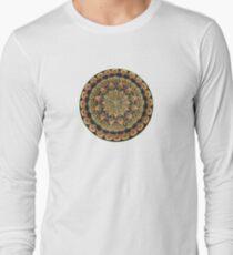 Earth Mandala Long Sleeve T-Shirt