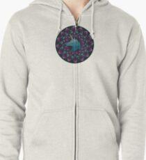 The Power of Unicons Mandala Zipped Hoodie