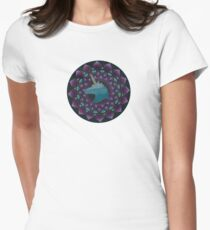 The Power of Unicons Mandala Women's Fitted T-Shirt