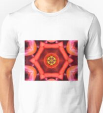 Pink Peach Psychedelic Unisex T-Shirt