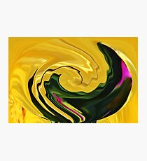 Swirling Colors Photographic Print