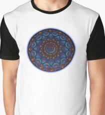 Rainbow Goddess of The Light Mandala Graphic T-Shirt