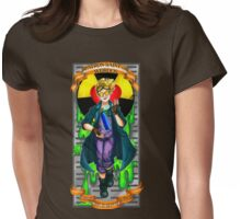 Patron Saint of Weirdos: Holtzmann Womens Fitted T-Shirt