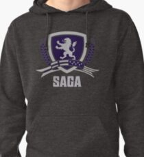 SAGA Official Merchandise BLACK Pullover Hoodie
