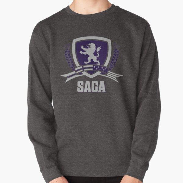 SAGA Official Merchandise BLACK Pullover Sweatshirt