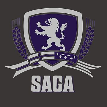SAGA Official Merchandise BLACK by fvsaga