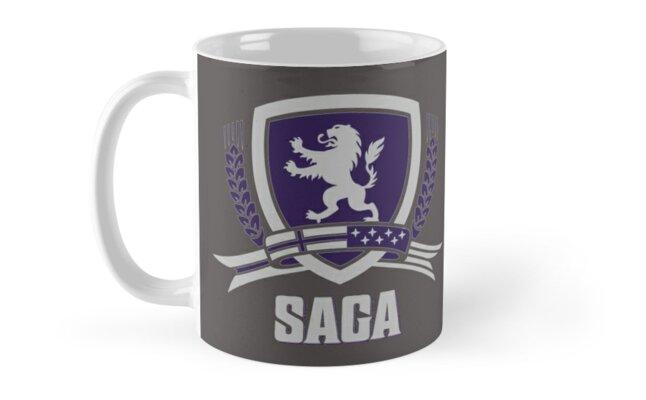 SAGA Official Merchandise BLACK by fvsaga