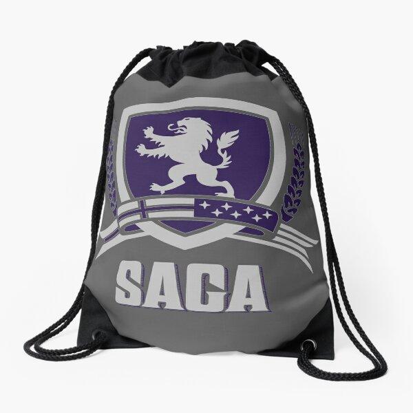 SAGA Official Merchandise BLACK Drawstring Bag