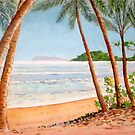 View from Palm Cove, Cairns, Queensland by Gregory Pastoll
