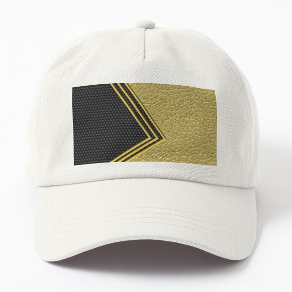 Decorate Lines and Shape (Leather) Dad Hat