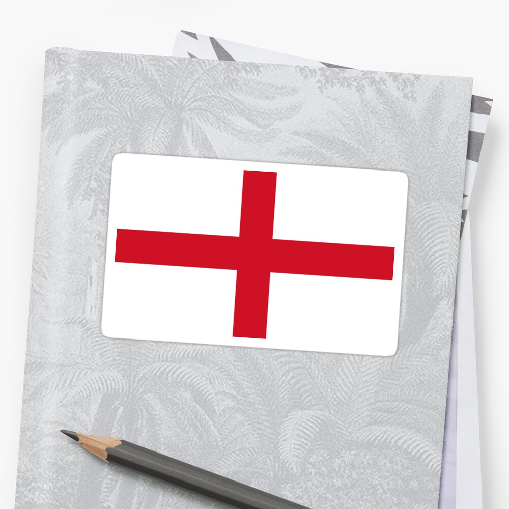 Bandera de Inglaterra Pegatina
