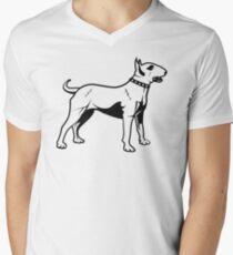 Bull Terrier Men's V-Neck T-Shirt