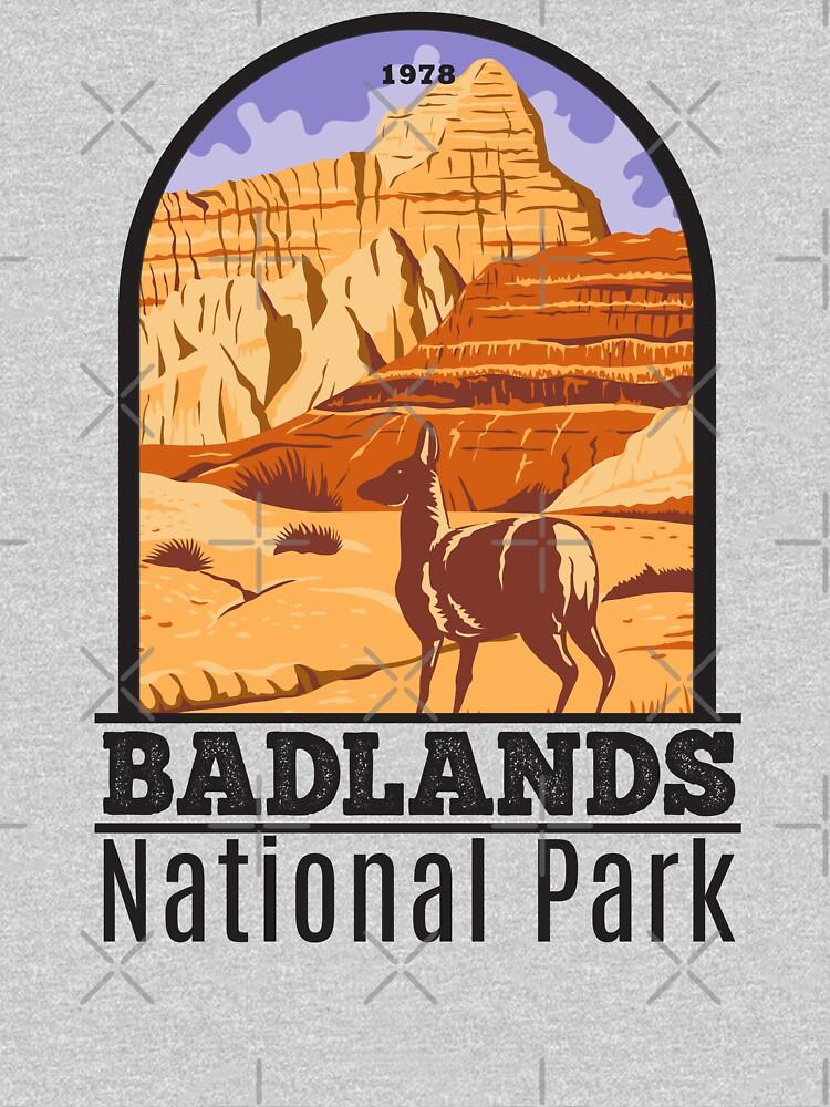 Badlands National Park South Dakota by KrisSidDesigns