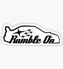 Rumble On Sticker