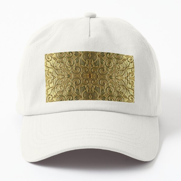 Decoration in Gold Dad Hat