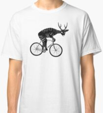 Deer & Bicycle Classic T-Shirt