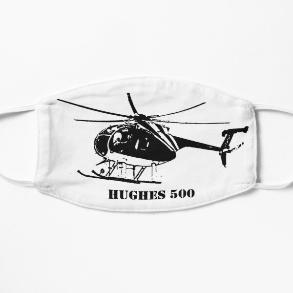 Hughes 500 Helicopter Flat Mask