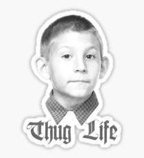 Dewey thug life Sticker