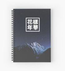 Bangtan Dark Night HYYH Spiral Notebook