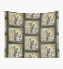 Popular Science: Marie Curie (distressed) Wall Tapestry