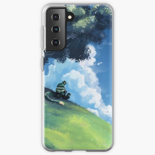 Snake vibing by Tees Samsung Galaxy Soft Case