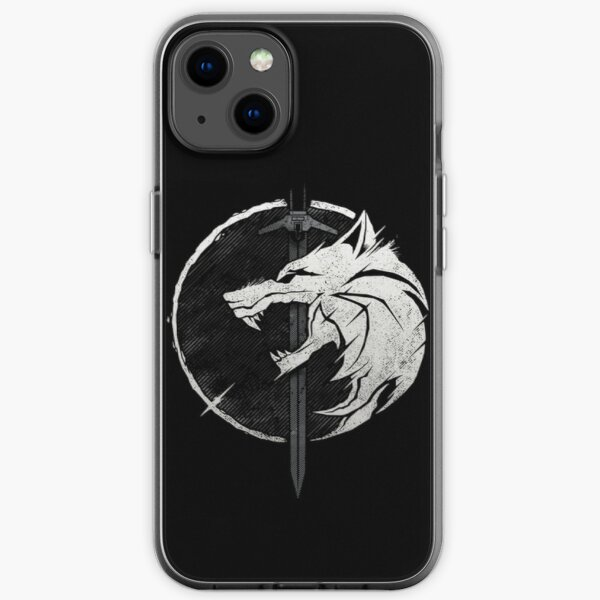 Wolf and Silver iPhone Soft Case