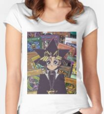 Yugi The Legend  Women's Fitted Scoop T-Shirt