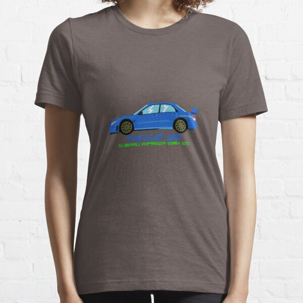 "Subaru Impreza STI ""The Flat Life"" Essential T-Shirt"